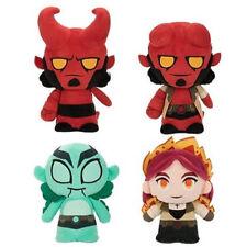 Funko Hero Plushies - Hellboy S1 -SET OF 4 (2 Hellboys, Liz Sherman & Abe Sapien
