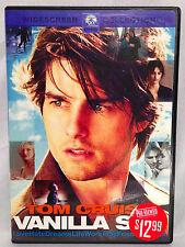 Vanilla Sky (Dvd, 2001) Widescreen, Tom Cruise, Penelope Cruz, Cameron Diaz