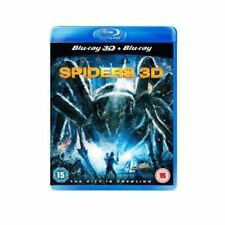 Spider 3D Edition Movie Blu-ray Discs