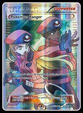 Pokemon Ranger - 113/114 - Full Art Ultra Rare -(x1)- Xy - Steam Siege - Nm-Mint