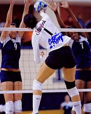 Cynthia Barboza Stanford Cardinals Volleyball SIGNED 8x10 Photo COA!