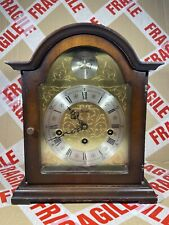Franz Hermle Tempus Fugit 2 Jewel Mantle Clock #340-020 Made In Germany