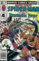 Marvel Team-Up Comic 133 Spider-Man And The Fantastic Four Bronze Age 1983