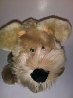 "Commonwealth Brown Dog  13"" Plush Stuffed Animal"