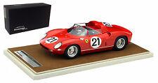 Tecnomodel Ferrari 250P #21 Winner Le Mans 1963 - Scarfiotti/Bandini 1/18 Scale