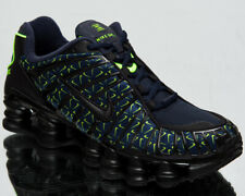 Nike Shox TL Just Do It Men's Obsidian Volt Black Lifestyle Sneakers Shoes