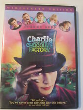 Charlie and the Chocolate Factory (Dvd, 2005, Widescreen) johnny deep
