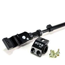"""NUVO Bike Kickstand Adjustable Length 20""""~28"""" Rim , Black"""