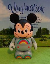 "DISNEY VINYLMATION Park - 3"" Set 8 Rainbow Mickey Mouse Topper Epcot Future"