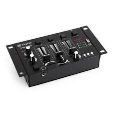 (B-WARE) 3/2-KANAL DJ MIXER PA MISCHPULT MP3 USB MIC TALKOVER