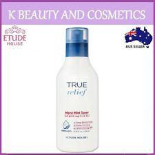 [Etude House] True Relief Moist Mist Toner 200ml Deep Moisturising Calming Skin