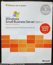 Microsoft Windows Kleiner Geschäft Server SBS Premium 2003 R2 Edition T75-01255