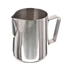 Stainless Steel Coffee Cup Frothing Milk Latte Jug Fancy Foam Pitcher 350ml JH