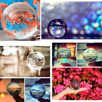 4 Colors Asian Rare Natural Quartz Magic Crystal Healing Ball Sphere 40mm+Stand