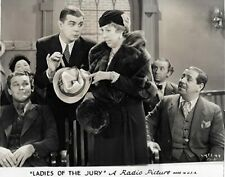 RARE 16mm Feature: LADIES OF THE JURY (EDNA MAY OLIVER) 1932 PRE-CODE RKO