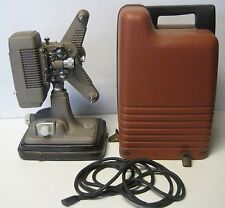 Steampunk Vintage Revere P-90 8mm Movie  Projector in Case Works Needs Bulb