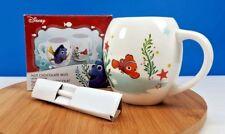 "Disney Pixar Finding Dory Nemo Ceramic Chocolat Mug Cup with Spoon New 4""T"