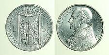 pcc1299_2) Città del Vaticano Pio XII (1939-1958)  lire 5 1950