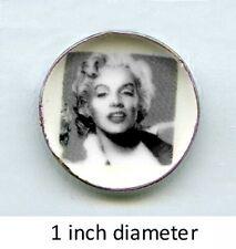 """1//6 Marilyn Monroe Head Sculpt 2.0 Peint pour Hot 12/"""" Toys Phicen"""
