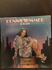 vinyl records- Donna Summer- On The Radio- VG Condition,with Poster.