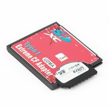 High Speed SDXC SDHC SD MMC to Compact Flash CF Card Reader Adapter New MI