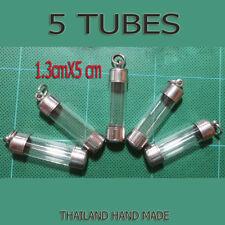 5 X Pcs Thai Amulet Takrud  Takrut Tube Casing, Case, Frame Wholesale C02