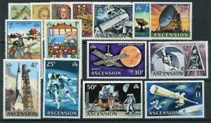 Ascension 1971 Evolution of Space Travel set MNH SG135/48 cat £33