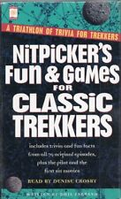 STAR TREK NITPICKER'S FUN & GAMES for CLASSIC TREKKERS READ by DENISE CROSBY