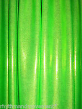 Dance Costume Lycra Fabric Lime Green Fog/Mystique 50cm - 150cm wide