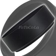 49mm metal standard screw in mount lens hood for Canon Nikon Pentax Olympus Sony