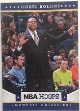 Lionel Hollins Coach Memphis Grizzlies #59 2011-2012 Panini 10 Original Single