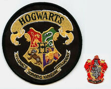 "BRITISH HARRY POTTER HOUSE of MAGIC HOGWARTS SCHOOL Gryffindor CREST 2"" APPLIQUE"