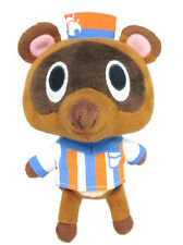 "Sale! Sanei Animal Crossing Leaf Doll Plush 5.5"" Timmy Convenience Store Clerk"