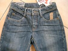 (267) Lässige Imps & Elfs Girls 6 Pocket Jeans Stone wash Hose Boyfriend gr.140