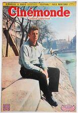 ►CINE MONDE 871/1951-YVES MONTANT-MARIA MONTEZ-JP AUMONT-LUIS MARIANO-DIETRICH..