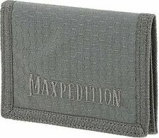 Maxpedition Tfwgry Gray AGR Tri Fold Wallet 3 Card Compartments