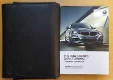 BMW 3 SERIES GRAN TURISMO HANDBOOK OWNERS WALLET 2013-2017 PACK B-258