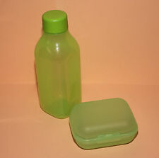 Tupperware ECO Flasche + Klappbox Brotdose