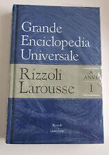 Grande Enciclopedia Universale Rizzoli Larousse Volume 1 (A-ANVE) sigillata