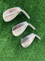 Miura 2017 Wedge Series Forged Wedge Set 51 55 59 Choose Your Shaft
