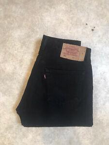 Jean Levis 501 Vintage Taille Haute W32 L30 Taille 42