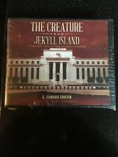 Nos Vtg Ultra Rare 2013 The Creature From Jekyll Island 20 Cd Audio Book Sealed