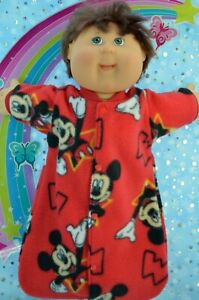 """Play n Wear Dolls Clothes To Fit 16"""" Cabbage Patch POLAR FLEECE SLEEPING BAG"""