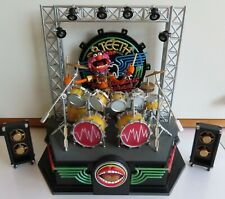 The Muppet Show Palisades Animal Playset Electric Mayhem Stage Muppets Drumset