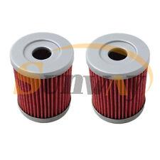 2x Oil Filter for Suzuki RV125 K7,K8,K9,L0,L1,L2,L3,L4 Van Van 07-14 Hiflo HF132