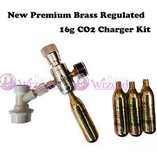 New MKII Premium CO2 Party Keg charger with regulator