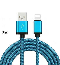Heavy Duty Braided USB Lead Adaptor Cable For iPhone 8 7 6 Plus,5,5c,5s X10, 11