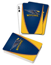 AFL West Coast Eagles Aussie Rules Deck Playing Cards Poker Cards Xmas Gift