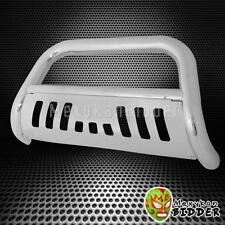 """3"""" ROUND CHROME S/S FRONT BULL BAR GRILLE GUARD FOR 1997-2004 Ford F150/F250 4WD"""