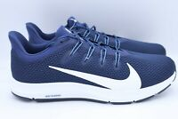 Nike Quest Running Walking Shoes  Blue White Mens Size 11.5 CI3801-400  NWOB